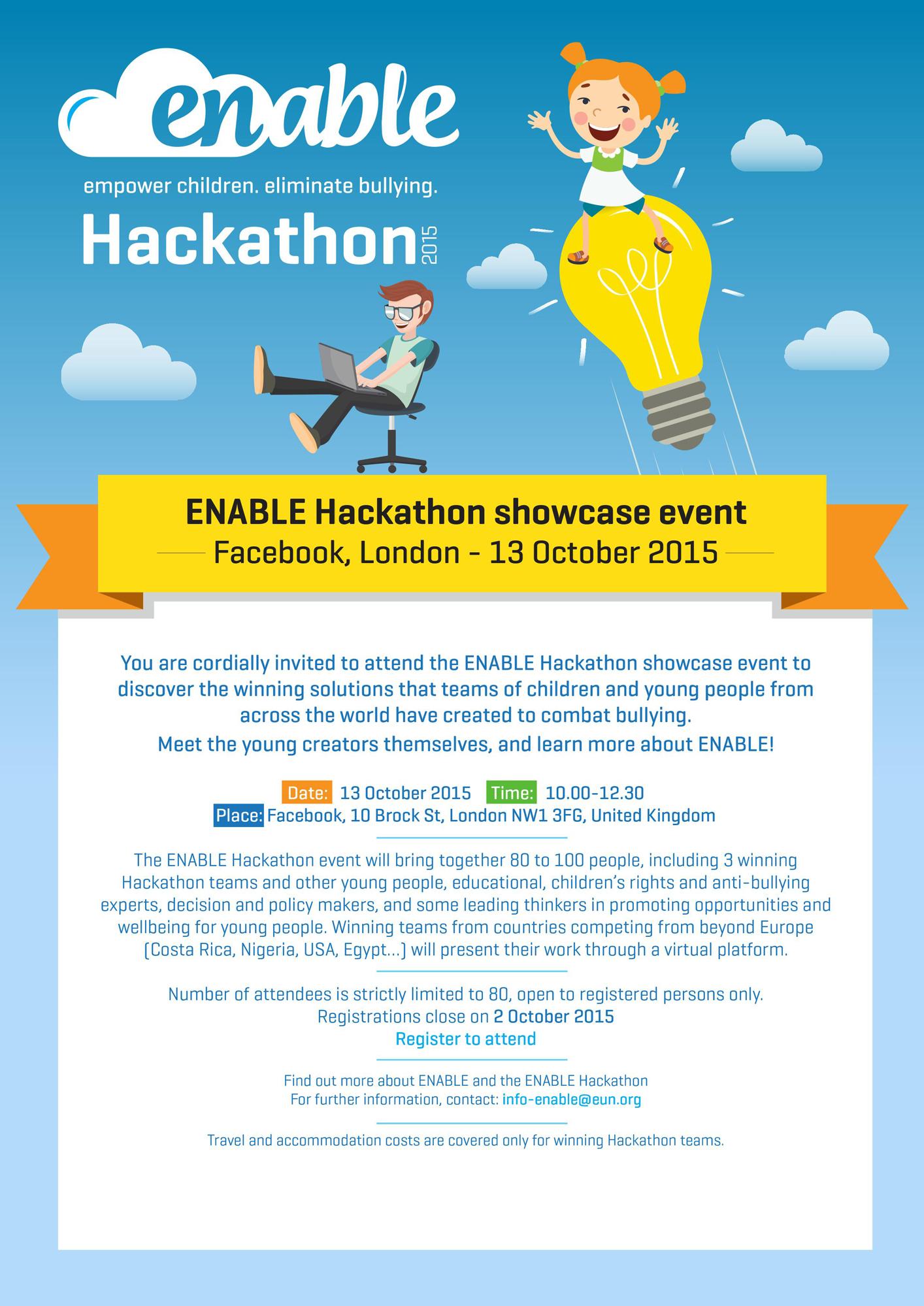 Invitation for hackathon october 13 2015 hackathon invitation stopboris Images